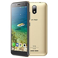 "V15- 5.0"" - 16GB+1GB- Android 8.1- 5MP- Dual SIM- Gold"