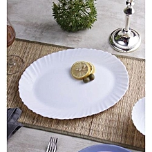 6 Piece Classique Dinner Plates - Plain White