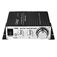 Lepy LP - 2024A+ Portable 2CH 12V HiFi Audio Amplifier