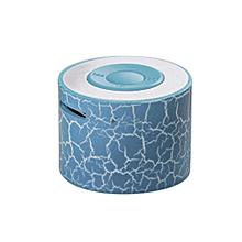 Speaker Portable Mini Stereo Bass Speakers Music Player MP3 TF Speaker BU-Blue