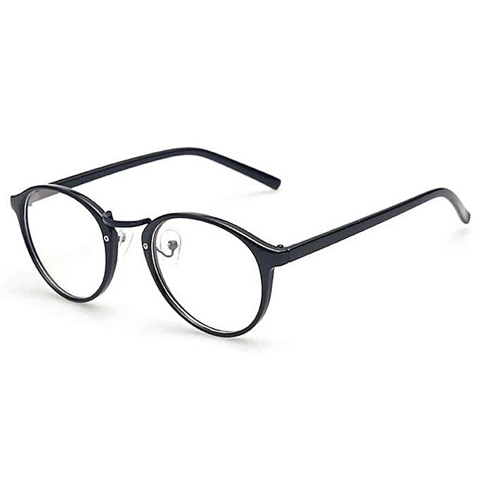 Buy Fashion Fashion Vintage Round Clear Reading Frame Eyeglasses ...