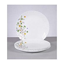 Size 10 Plate Set - 6 Pieces - Floral Magic Print