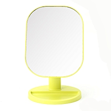 360° Rotating LED Lights Makeup Mirror Touch Screen Tabletop Cosmetic Mirror