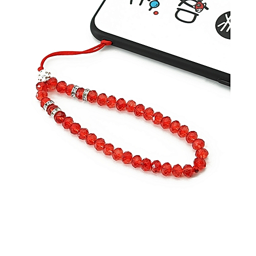 Hand Wrist Strap Crystal Lanyard for USB Flash Drives, Cell phone, Keys, Keychains, Mp4, Mp3