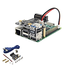Upgraded Version V1.3 X850 mSATA SSD Storage Expansion Board For Raspberry Pi 3 Model B / 2B / B+