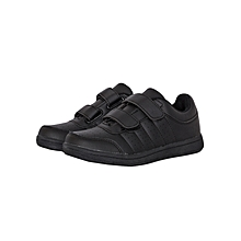 Black Kids School Sports Shoes