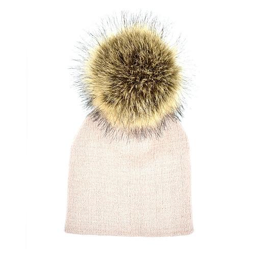 e8da2bc4d4e Generic jiuhap store Toddler Infant Baby Winter Warm Solid Hat Crochet Knit  Hairball Beanie Cap-Khaki   Best Price