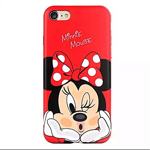 release date: 34f4f 05794 Iphone 6s Minnie mouse case-Red