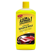 Carnauba Wash & Wax Shampoo Car Washing Liquid  (473 ml)