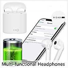 Wireless Bluetooth Stereo Earbuds Headset In-Ear Earphone For iPhone iPod Smart Devices Android iOS