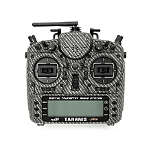 Frsky Taranis X9D Plus SE Radio Transmitter Special Version w/ Aluminum Alloy Stand & Switch Cap-Carbon Fiber Left Hand