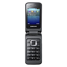 C3520 2.4 Inch 3G WCDMA Flip Phone Cellphone - Black