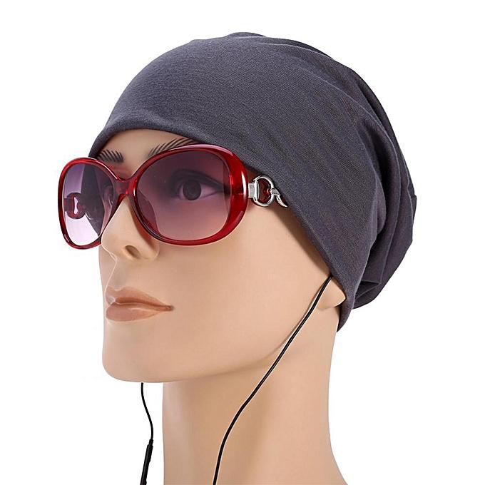 Fashion Men Women Beanie Knit Ski Cap Hip Hop Solid Color Winter