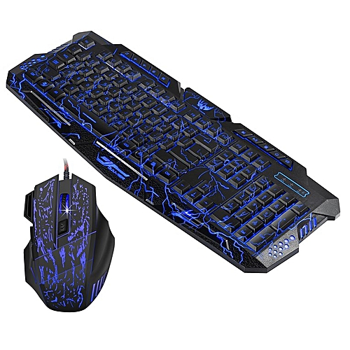 HP HXSJ Professional Gaming Keyboard Mouse Set For Computer Gamer