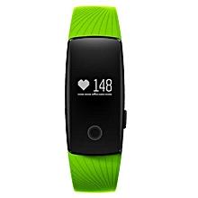 "ID107 - 0.49"" Smart Bracelet Android/iOS 70mAh Pedometer - Green"