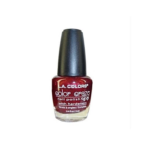 L.A. Colors Color Craze Nail Polish - Cayenne Pepper @ Best Price ...