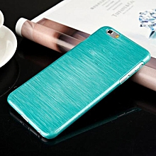 Ultra Thin Brushed Case PC Hard Back Cover For iPhone 6 4.7 Inch L BU-Light Blue