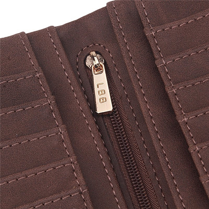 ... Yingwei High Quality Ladies PU Leather Wallet Portable Purse Coffee