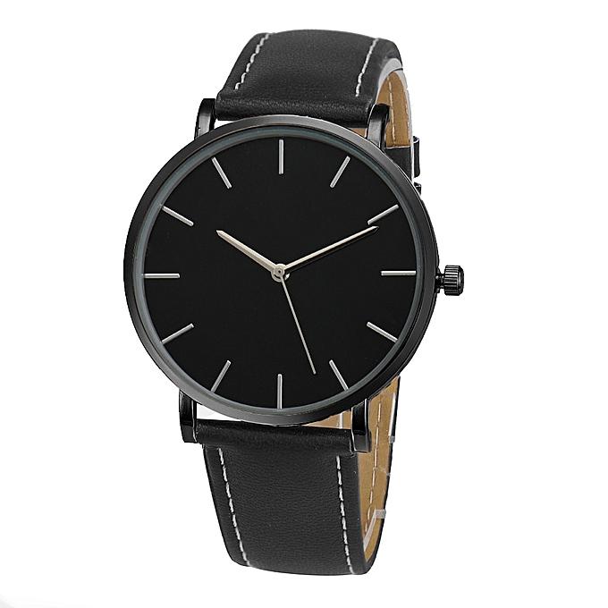 Quartz Watch Men Women Famous  Gold Leather Band Wrist Watches Luxury