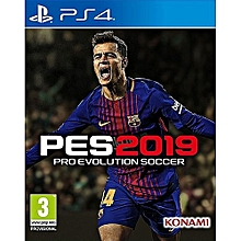 Konami PS4 Pro Evolution Soccer (PES) 2019 PES 19