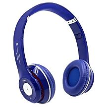 Headphone HandsFree Fashion Bluetooth Headset Bluetooth Sports Wireless Headphones S460 - Dark Blue