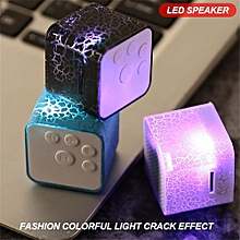 Enjoy Bluetooth Speaker Mini Wireless Loudspeaker Crack LED TF USB Subwoofer Speakers mp3 stereo audio music player