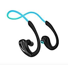 Wireless Bluetooth Sport headphone, Athlete Bluetooth 4.1 headset Wireless headphone sports stereo earphone(Blue)