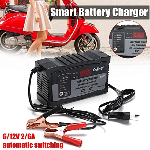 Buy Generic Automatic Smart 12v 6a Lead Acid Battery Charger For Car