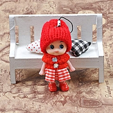 Henoesty 5Pcs Kids Toys Soft Interactive Baby Dolls Toy Mini Doll For Girls And Boys Hot
