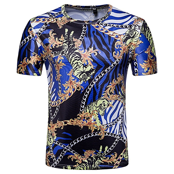 b970a4286 Fashion Men Slim Fit 3D Short Sleeve Muscle Tee T-shirt Casual Tops Blouse