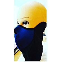 Wind, Sun & Dust Protective Half Face Mask/ Sports Wear-Cycling,Biking,Hiking- Blue