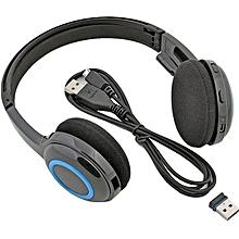 H600 Wireless Headphone - Black & Blue