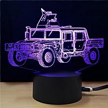 M.Sparkling TD294 Creative Car 3D LED Lamp COLORFUL