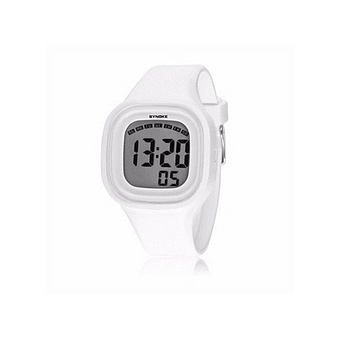 Fashion LED Digital Watch Sport Women Watch Top Brand Luxury Wrist Watches  Female Clock(White 4652191818