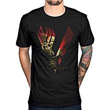 Men'S Funny Vikings Short Sleeve T Shirt
