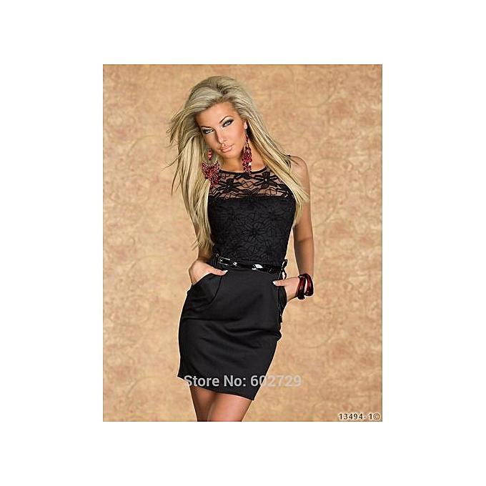 f0bad2f997 Midi Dresses Hot Sale Berydress Womens Elegant Wedding Party Sexy Night  Club Halter Neck Sleeveless Sheath