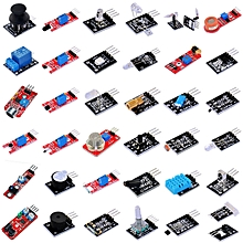 KEYES KT0012 37 in 1 Sensor Kit Arduino DIY Parts Programmer - As The Picture