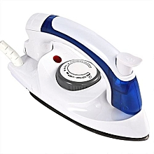 Travel Iron Box - White & Blue,700W