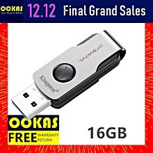 KINGSTON DTSWIVL USB 3.1 16GB Flash Drive / Pendrive / Thumb Drive / Pen Drive (Not Specified) LJMALL