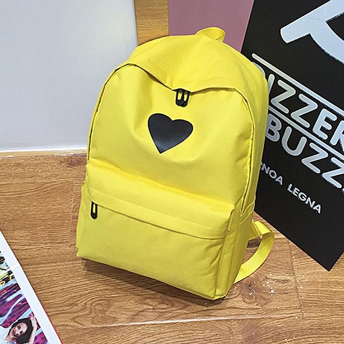 914233cd2e Women Girl Fashion Love Print Preppy Style School Bag Travel Backpack  Bag+Wallet