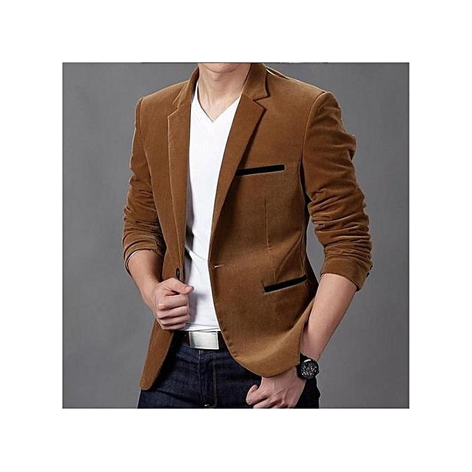 Homme En Costume fashion khaki new arrival slim fit men suit costume homme vest