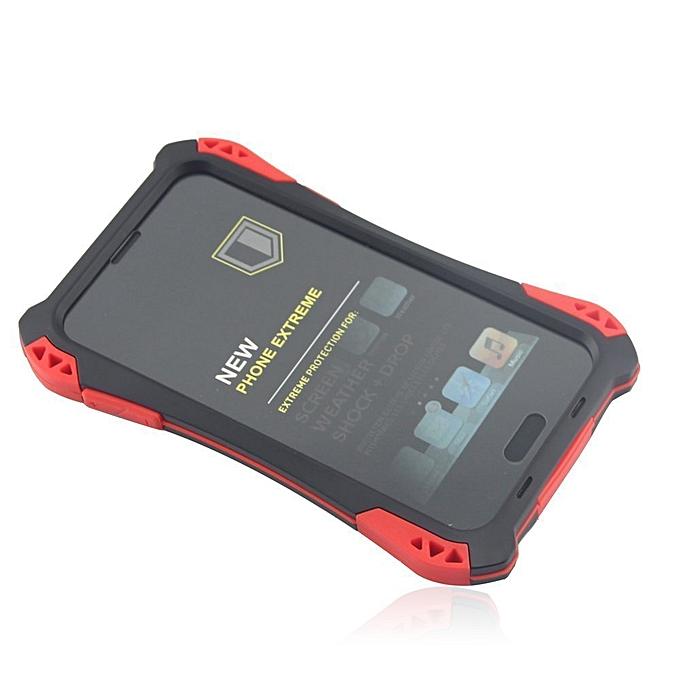 premium selection 7ab80 c55c3 R-JUST Waterproof Shockproof Carbon Fiber Gorilla Tempered GlassAluminum  Metal Armor Case Cover For Samsung Galaxy S5 - Black &Red & Black
