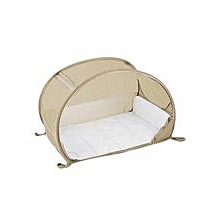 Pop-up Travel Bubble Cot - Cafe Creme
