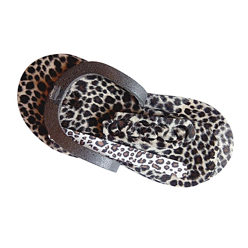 64fa59eba NAILYCIOUS Cheetah Print Pelouchè Spa Slippers Kit @ Best Price ...