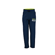 Navy Blue Fashionable Trousers