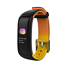P1 Plus Wristband Blood Pressure Watch Blood Oxygen Heart Rate Smart Watch OR