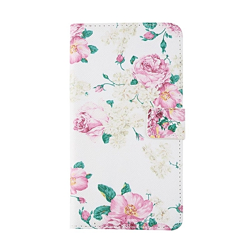 CO Hot Peony Luxury PU Leather Card Slot Cover Case Wallet For Samsung Note 4