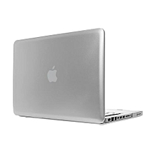 "13"" Pro With CD-ROM Case, Metal-color Hard Rubberized Cover For 2008-2012 Macbook Pro 13.3 Inch, Silver"