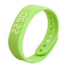 3D T5 LED Display Sports Gauge Fitness Bracelet Smart Step Tracker Pedometer