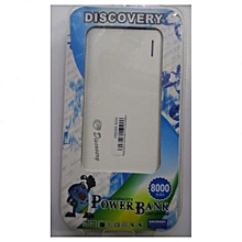 Power Bank 8000mAh - White